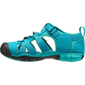 Keen Seacamp II CNX Chaussures Adolescents, baltic/caribbean sea